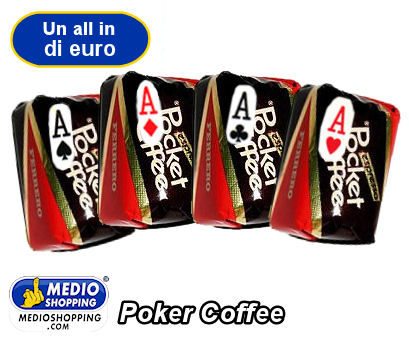 Medioshopping Poker Coffee