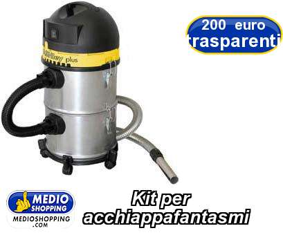 Kit per  acchiappafantasmi