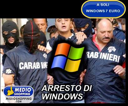 ARRESTO DI WINDOWS