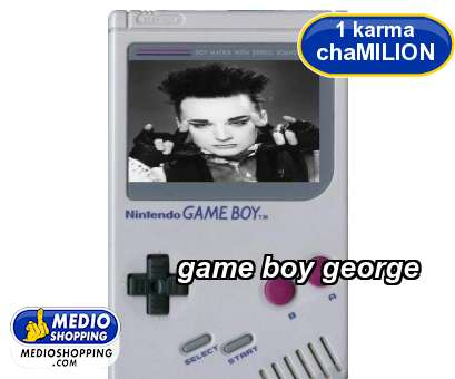 game boy george