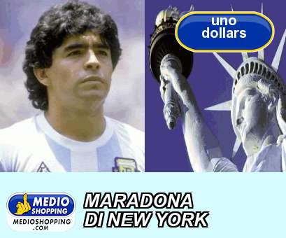 MARADONA DI NEW YORK