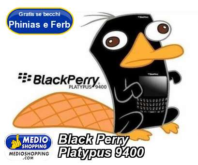 Black Perry Platypus 9400