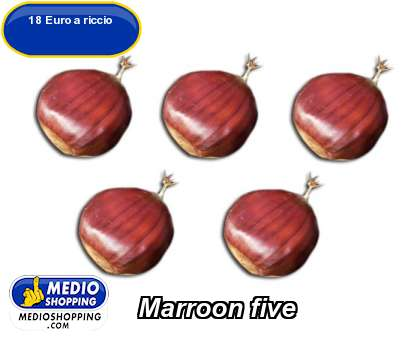Marroon five