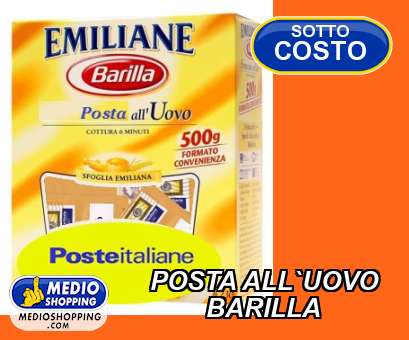 POSTA ALL`UOVO         BARILLA