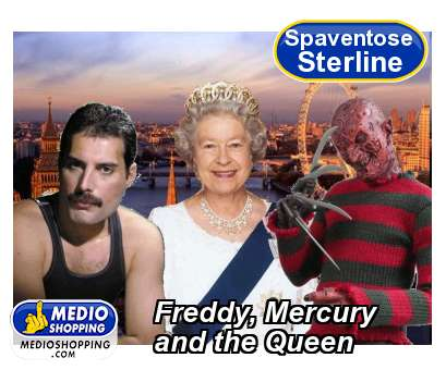 Freddy, Mercury and the Queen