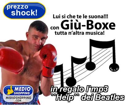 in regalo l`mp3 ``Help`` dei Beatles