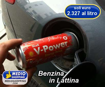 Benzina            in Lattina