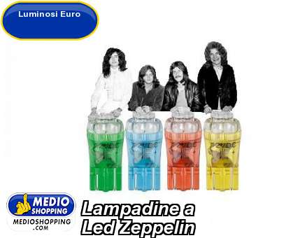Lampadine a  Led Zeppelin