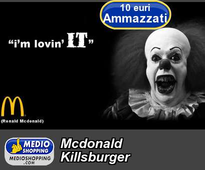 Mcdonald Killsburger