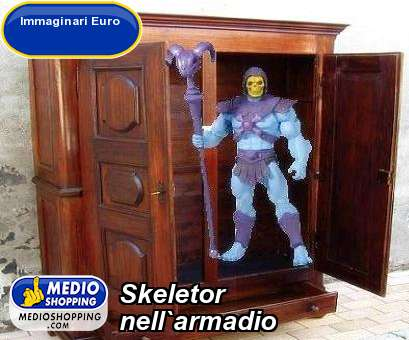 Skeletor  nell`armadio