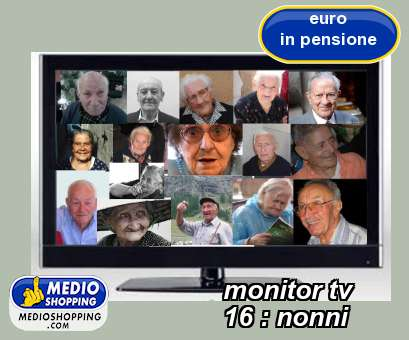monitor tv           16 : nonni