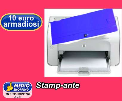 Stamp-ante
