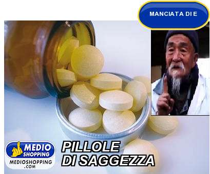 PILLOLE DI SAGGEZZA
