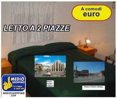 LETTO A 2 PIAZZE