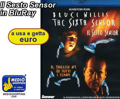 Il Sesto Sensor in BluRay
