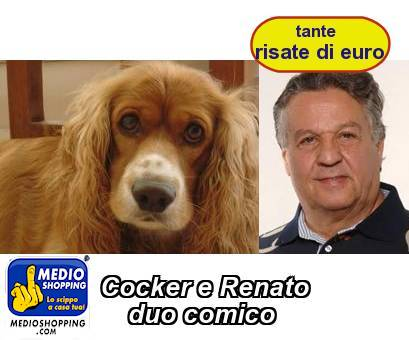 Cocker e Renato     duo comico