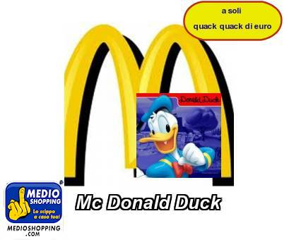 Mc Donald Duck