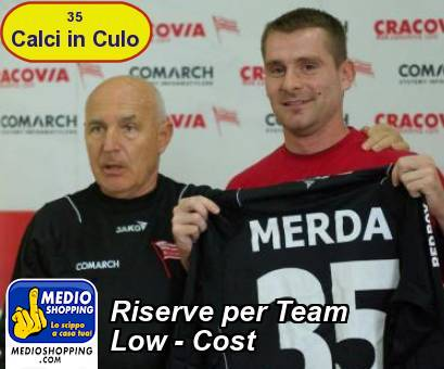 Riserve per Team Low - Cost