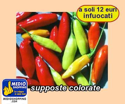 supposte colorate