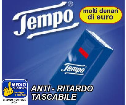 ANTI - RITARDO TASCABILE