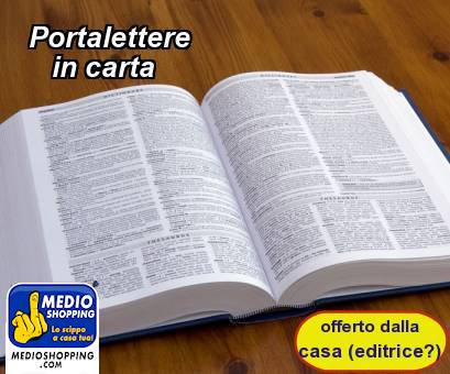 Portalettere    in carta