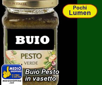 Buio Pesto  in vasetto