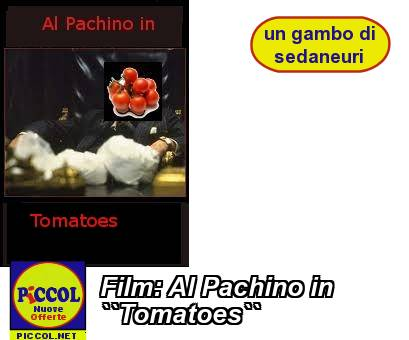Film: Al Pachino in ``Tomatoes``