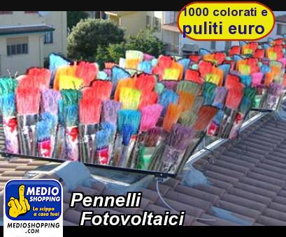 Pennelli    Fotovoltaici