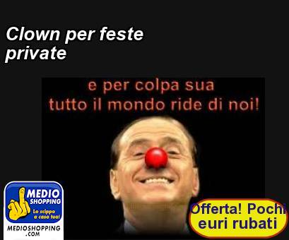 Clown per feste private