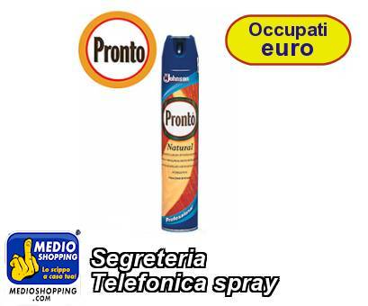 Segreteria  Telefonica spray